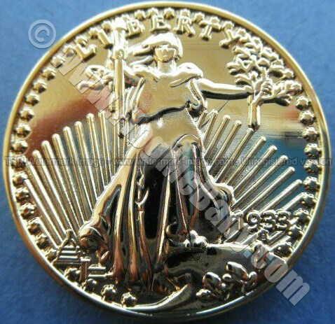 GOLD PLATED REPLICA COIN