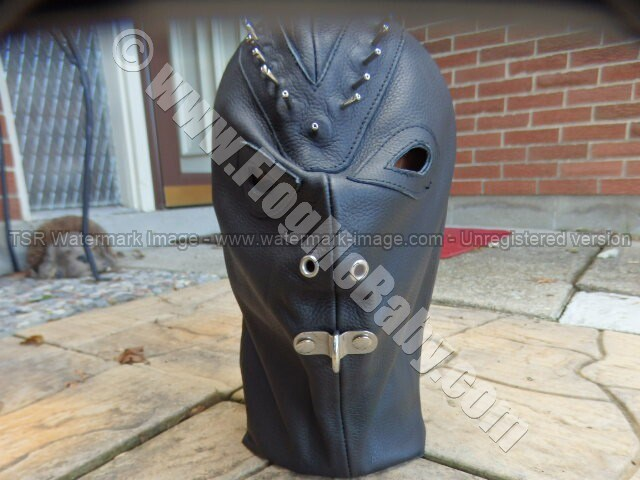LEATHER PADDED MASK