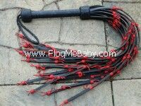 BARBED WIRE FLOGGER No Suede