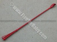 RED LEATHER RIDING CROP
